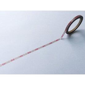 ワールドクラフト world craft スケジュール用マスキングテープ4mm商談 W01-TM4-0007[W01TM40007]
