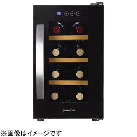 デバイスタイル deviceSTYLE CE-8W ワインセラー [8本 /右開き][CE8W 家庭用 小型]
