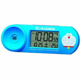 セイコー SEIKO 目覚まし時計 【ドラえもん】 青 CQ614L [デジタル /電波自動受信機能有]