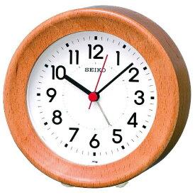 セイコー SEIKO 目覚まし時計 ナチュラルスタイル 天然色木地 KR899A [アナログ]