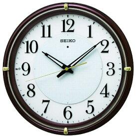 セイコー SEIKO 掛け時計 【ファインライトNEO】 茶メタリック KX233B [電波自動受信機能有]