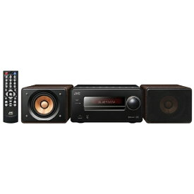 JVC ジェイブイシー ミニコンポ EXS55B [ワイドFM対応][CDコンポ EXS55B]