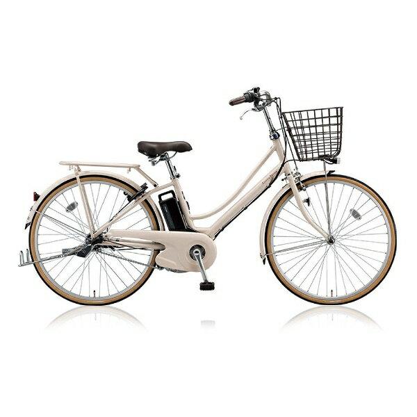 【送料無料】 ブリヂストン 26型 電動アシスト自転車 アシスタプリマ(E.Xミルクティベージュ/内装3段変速) A6PD18【2018年モデル】【組立商品につき返品不可】 【代金引換配送不可】