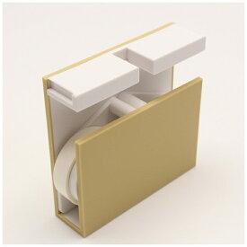 カモ井加工紙 KAMOI mt tape cutter twins アイボリー×ホワイト MTTC0026