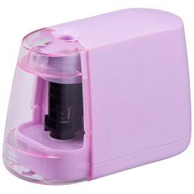 オーム電機 OHM ELECTRIC 電動えんぴつ削り(乾電池式) JIM-E01-P (ピンク)