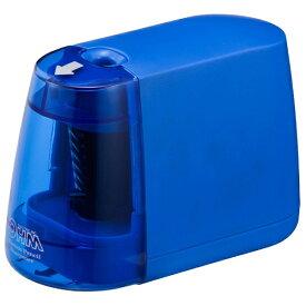 オーム電機 OHM ELECTRIC 電動えんぴつ削り(乾電池式) JIM-E01-A (ブルー)