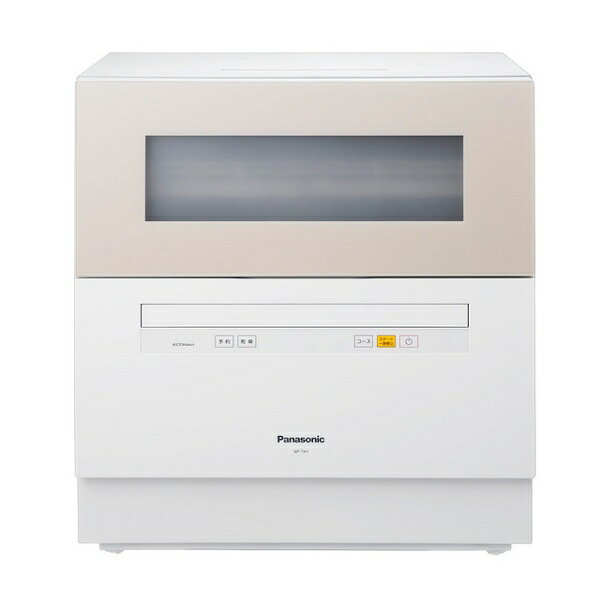 【送料無料】 パナソニック Panasonic 食器洗い乾燥機 (5人用・食器点数40点) NP-TH1-C ベージュ[NPTH1] panasonic