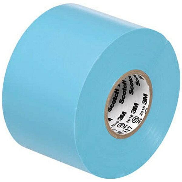 3Mジャパン スリーエムジャパン ビニールテープ 117 水色 50mmX20m