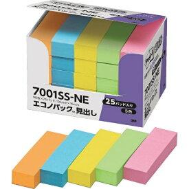 3Mジャパン スリーエムジャパン ポスト・イット 強粘着 50X15mm 90枚X25パッド 5色混色