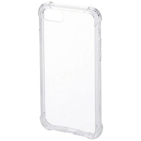 サンワサプライ SANWA SUPPLY iPhone 7用 耐衝撃ケース クリア PDA-IPH013CL