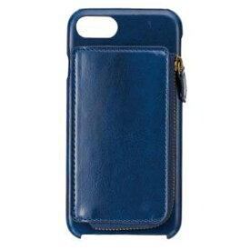 サンクレスト SUNCREST iPhone 7 / 6s / 6用 イタリアンレザーICOINバックカバー ネイビー iP7-NW07