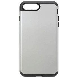 PGA iPhone 7 Plus用 ハイブリッドタフケース シルバー PG-16LPT11SV