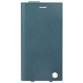 PGA iPhone 7 Plus用 手帳型 オールPUレザーフリップカバー ブルー PG-16LFP22BL