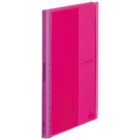 キングジム KING JIM クリアーファイル パタント 透明 20P ピンク