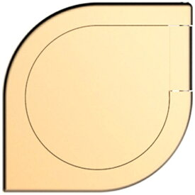 ABSOLUTE TECHNOLOGY アブソルート 〔スマホリング〕 iSpin ハンドスピナー機能付モバイルリング ゴールド ISPINGOLD