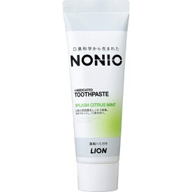 LION ライオン ノニオ(NONIO) 歯磨き粉 スプラッシュシトラスミント 130g【rb_pcp】