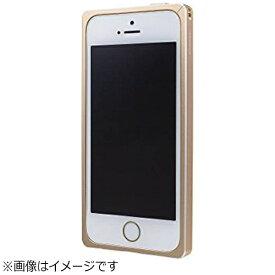 坂本ラヂヲ iPhone SE(第1世代)4インチ / 5s / 5用 GRAMAS Straight Metal Bumper ゴールド GMB506GL
