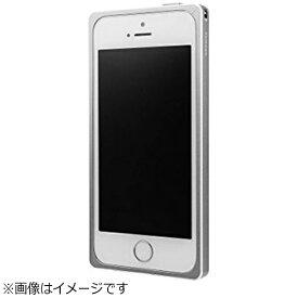 坂本ラヂヲ iPhone SE(第1世代)4インチ / 5s / 5用 GRAMAS Straight Metal Bumper シルバー GMB506SL