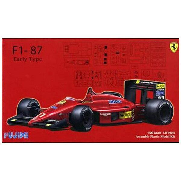 フジミ模型 FUJIMI 1/20 グランプリシリーズ No.20 フェラーリF1-87前期型
