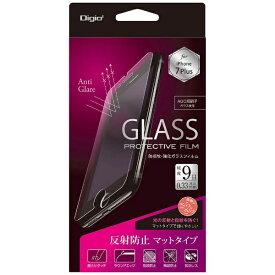 ナカバヤシ Nakabayashi iPhone 7 Plus用 ガラスフィルム 防指紋 反射防止 SMF-IP163GFLG