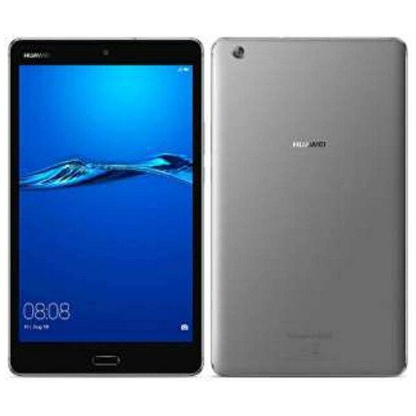 【送料無料】 HUAWEI Android 7.0タブレット[8型・MSM8940・ストレージ 32GB・メモリ 3GB] MediaPad M3 Lite スペースグレー CPN-W09 (2017年8月モデル)[CPNW09]