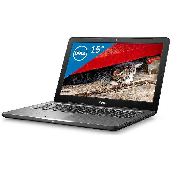 【送料無料】 DELL 15.6型ノートPC[Offie付き・Win10・AMD A12-9700P・SSD 256GB・メモリ 8GB] Inspiron 15 5565 ブラック NI65-7NHBB (2017年夏モデル)[NI657NHBB]