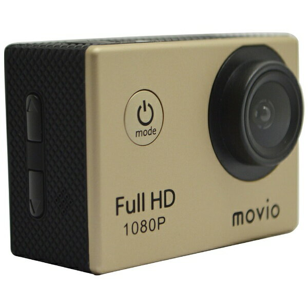 【送料無料】 ナガオカ movio(モヴィオ) マイクロSD対応 フルハイビジョンアクションカメラ M101FHD[M101FHD]