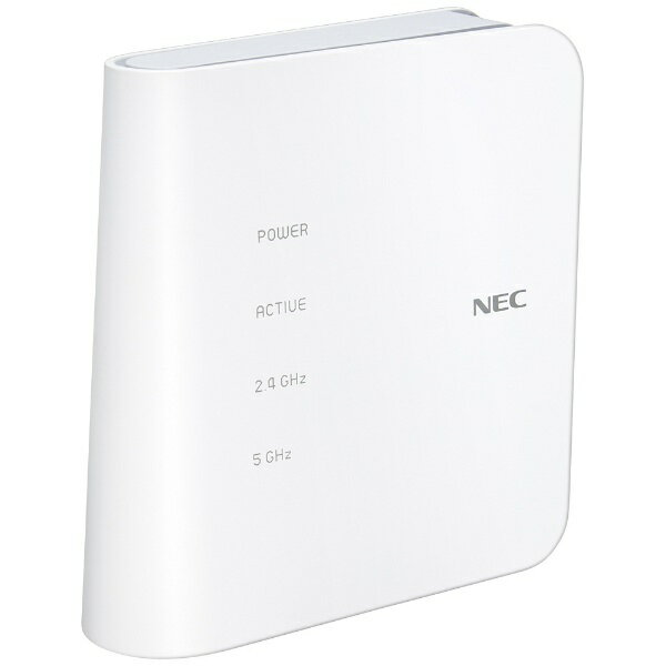 NEC 無線LANルーター(Wi-Fiルーター) 親機単体[無線ac/n/a/g/b・有線LAN/WAN・Mac/Win/iOS/Android] 867+300Mbps PA-WF1200CR