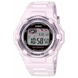 カシオ CASIO Baby-G(ベイビージー) 「Pink Bouquet Series(ピンクブーケシリーズ) MULTI BAND 6」 BGR-3003-4JF[BGR30034JF]