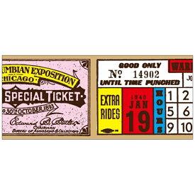 ワールドクラフト world craft マスキングテープ 30mm(ticket) W02-MK-T0064[W02MKT0064]