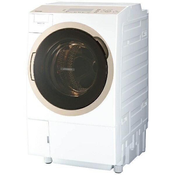 【標準設置費込み】 東芝 [左開き] ドラム式洗濯乾燥機 (洗濯11.0kg/乾燥7.0kg) TW-117A6L-W グランホワイト 【洗濯槽自動お掃除・ヒートポンプ乾燥機能付】
