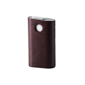 エレコム ELECOM 電子たばこglo用ソフトレザーカバー ハードタイプ ET-GLLC2BR ブラウン