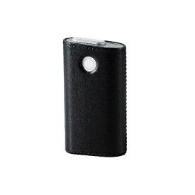 エレコム ELECOM 電子たばこglo用ソフトレザーカバー ハードタイプ ET-GLLC2BK ブラック