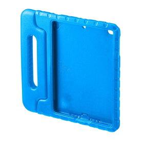 サンワサプライ SANWA SUPPLY iPad 9.7インチ用 衝撃吸収ケース ブルー PDA-IPAD1005BL[PDAIPAD1005BL]
