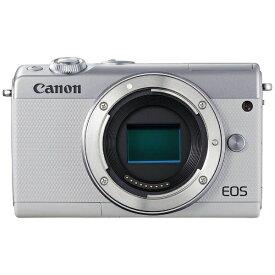 キヤノン CANON EOS M100 ミラーレス一眼カメラ ホワイト [ボディ単体][EOSM100WHBODY]