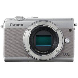 キヤノン CANON EOS M100 ミラーレス一眼カメラ グレー [ボディ単体][EOSM100GYBODY]