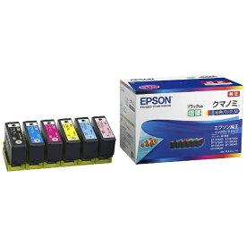エプソン EPSON KUI-6CL-M 純正プリンターインク Colorio(カラリオ) 6色パック[クマノミ KUI6CLM]【wtcomo】