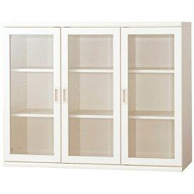 小島工芸 書棚 OF−120開戸ホワイト