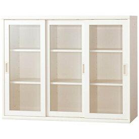 小島工芸 書棚 OF−120引戸ホワイト