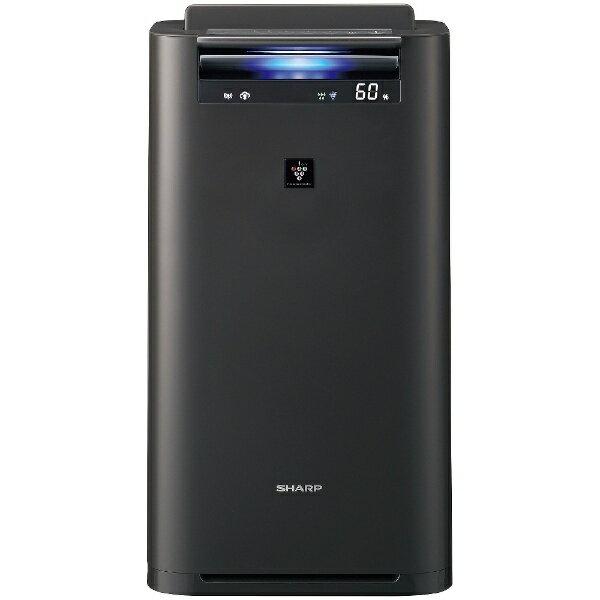 【送料無料】 シャープ 加湿空気清浄機 (空気清浄:〜23畳/加湿:〜15畳) KI-HS50-H グレー系[KIHS50H]