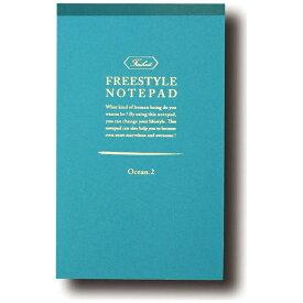 ワールドクラフト world craft ノートパッドA5 B FHNP02BL