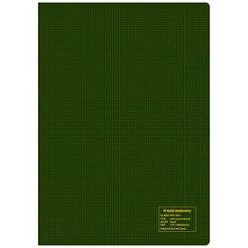 新日本カレンダー SHINNIPPON CALENDER 2mm方眼ノートA5オリーブ NO8902