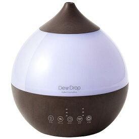 Three-up スリーアップ HFT-1718 加湿器 Dew Drop L(デュードロップ L) ダークウッド [ハイブリッド(加熱+超音波)式 /3.3L]