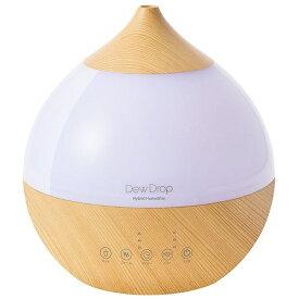 Three-up スリーアップ HFT-1718 加湿器 Dew Drop L(デュードロップ L) ナチュラルウッド [ハイブリッド(加熱+超音波)式 /3.3L]