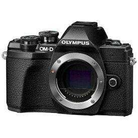 オリンパス OLYMPUS OM-D E-M10 Mark III ミラーレス一眼カメラ ブラック [ボディ単体][OMDEM10MARK3ボディーフ]