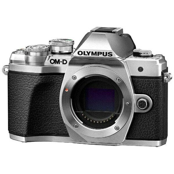 オリンパス OLYMPUS OM-D E-M10 Mark III【ボディ(レンズ別売)】(シルバー)/ミラーレス一眼カメラ[OMDEM10MARK3ボディーシ]