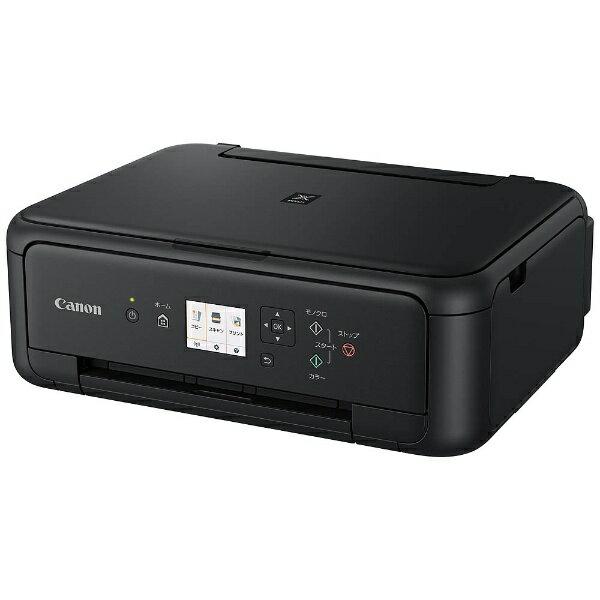 【送料無料】 キヤノン CANON A4インクジェットプリンター [無線LAN] PIXUS TS5130BK (ブラック)