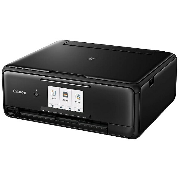 【送料無料】 キヤノン CANON PIXUSTS8130BK インクジェット複合機 PIXUS(ピクサス) ブラック [カード/名刺〜A4]