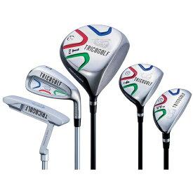 トリコゴルフ メンズ ゴルフクラブ TRICOGOLF 10本セット《TRICOGOLF オリジナルシャフト+キャディバッグ付》S