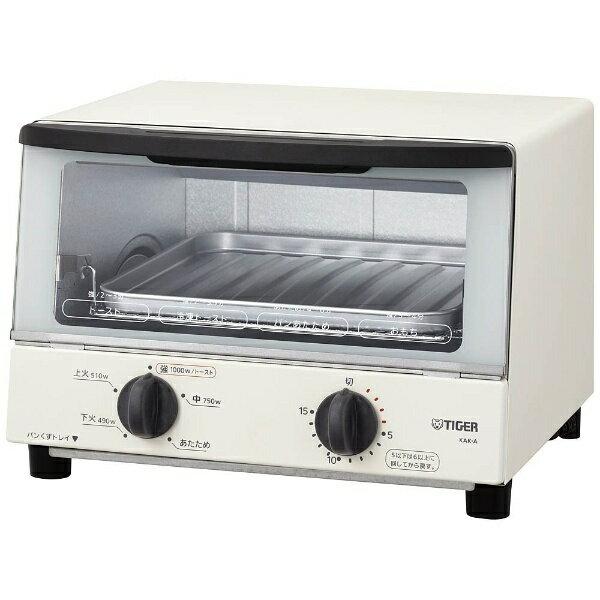 タイガー オーブントースター KAK-A100W-ホワイト[KAKA100]